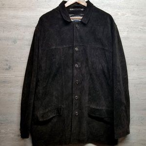 Old Navy Suede Leather Jacket. Perfect Condition!